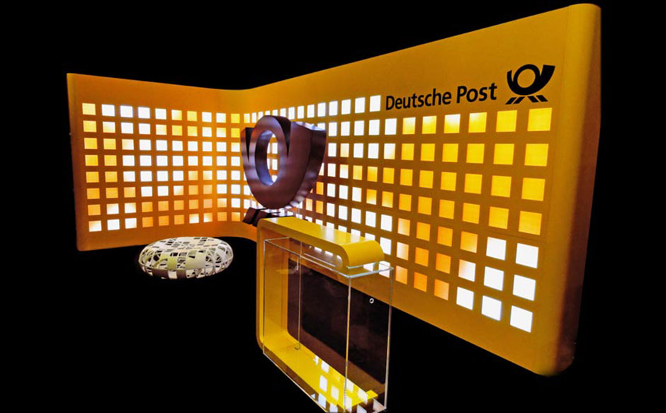 Deutsche Post mobiles Loungeconcept