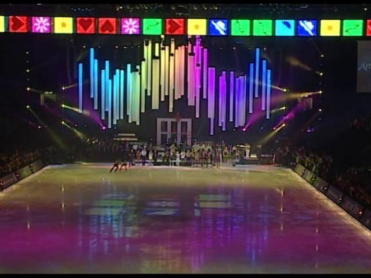 Art on Ice 2010 - Videodesign