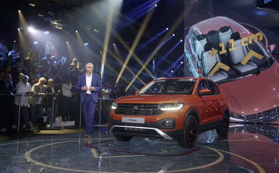 World Premiere of the all-new T-Cross: Volkswagen expands its fa