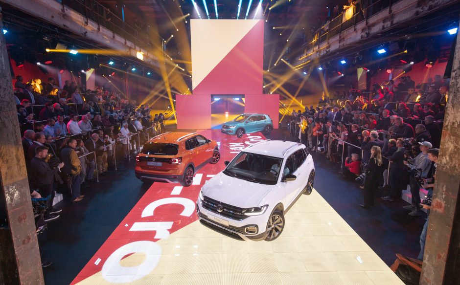 World Premiere of the all-new Volkswagen T-Cross in Amsterdam