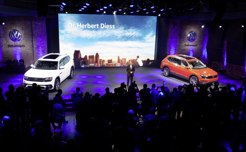 Volkswagen Media Preview am Vorabend der NAIAS Detroit 2017